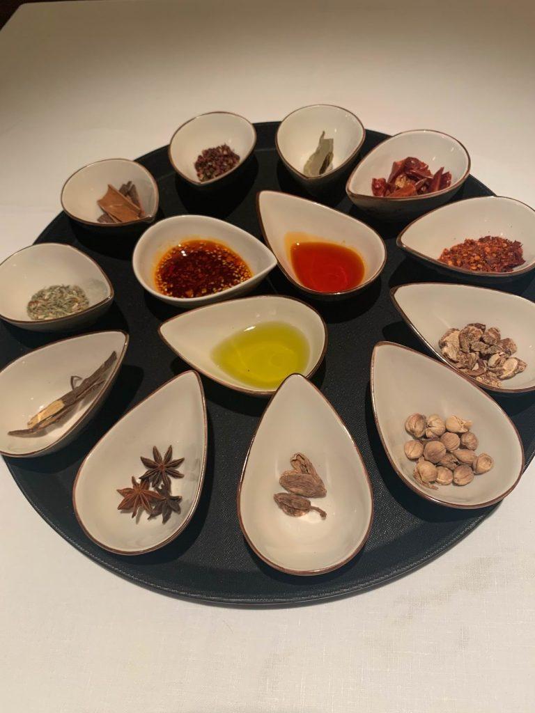 Especias que se utilizan en la cocina de Sichuán
