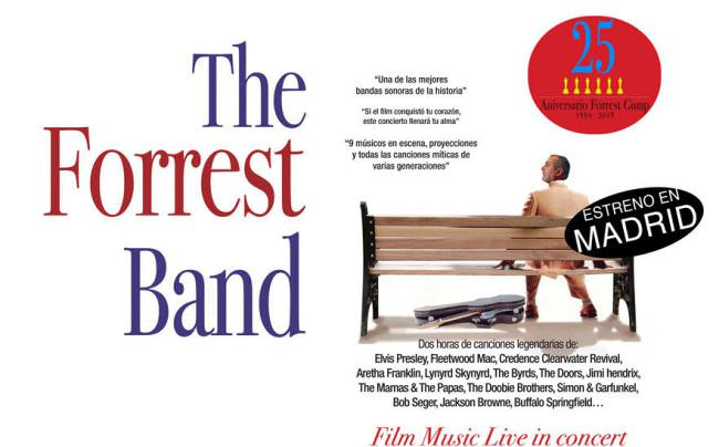 Llega a Madrid The Forrest Band