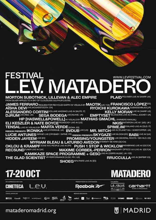 Llega a Madrid el festival LEV - Un buen día en Madrid