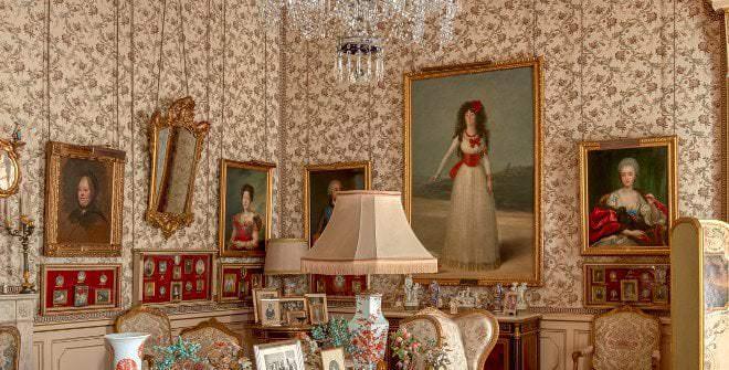 Salón Goya del Palacio de Liria