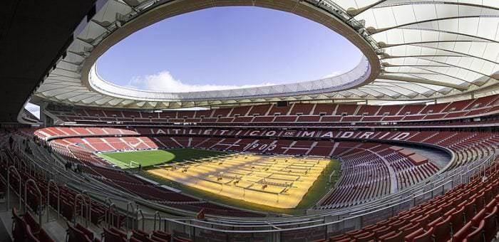 Una visita al Wanda Metropolitano - Un buen día en Madrid