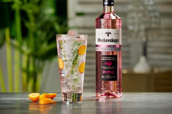 moskovskaya pink vodka