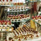 Opciones dulces en el brunch del Hotel Intercontinental