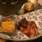 Pollo asado al carbón