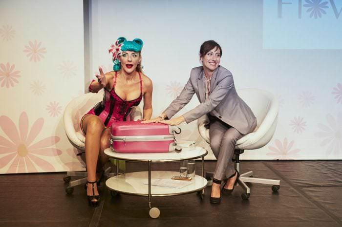 Alicia Garau y Roma Calderón en Tuppersex