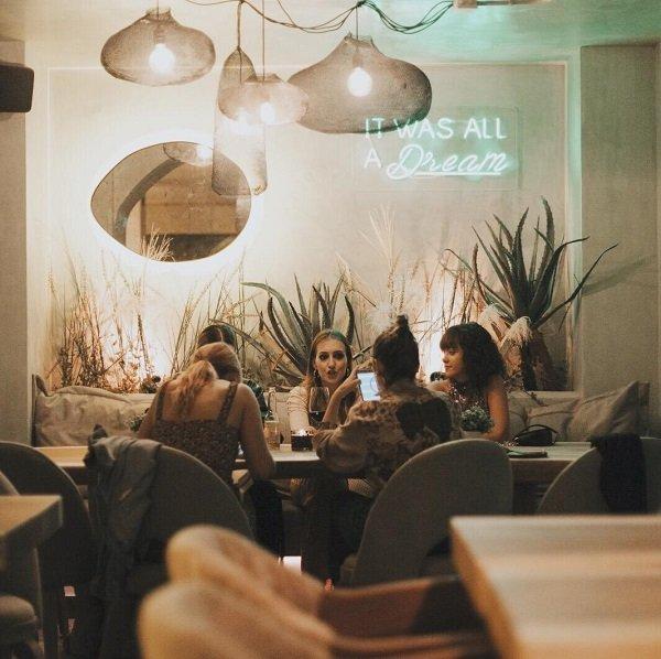 comedor del restaurante bulla
