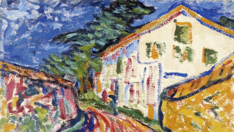 Erich Heckel Casa en Dangast (La casa blanca),