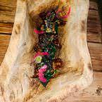 Costillas de atún salvaje de almadraba con salsa hoisin