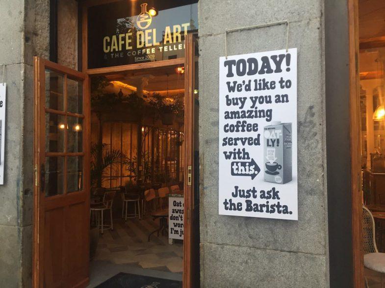 Fachada de Café del Art