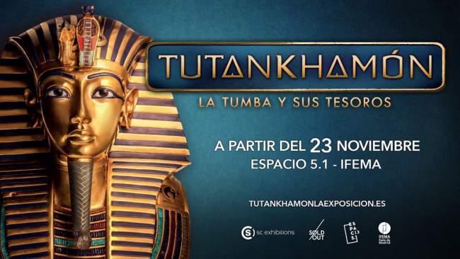Tutankhamón: La Tumba y sus Tesoros en Madrid