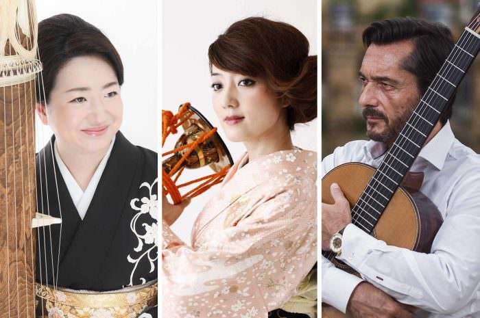 Concierto de Fuyuki Enokido, Kaho Aso y José María Gallardo