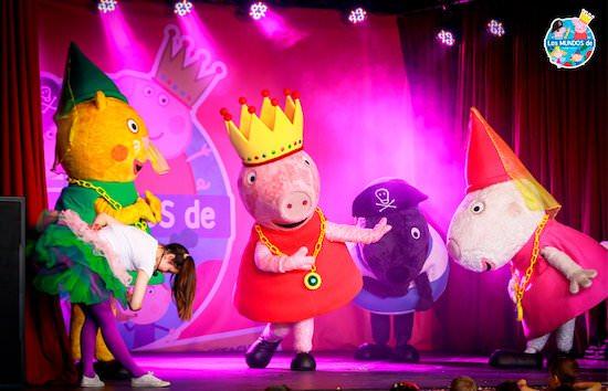 los mundos de peppa pig y ben & holly
