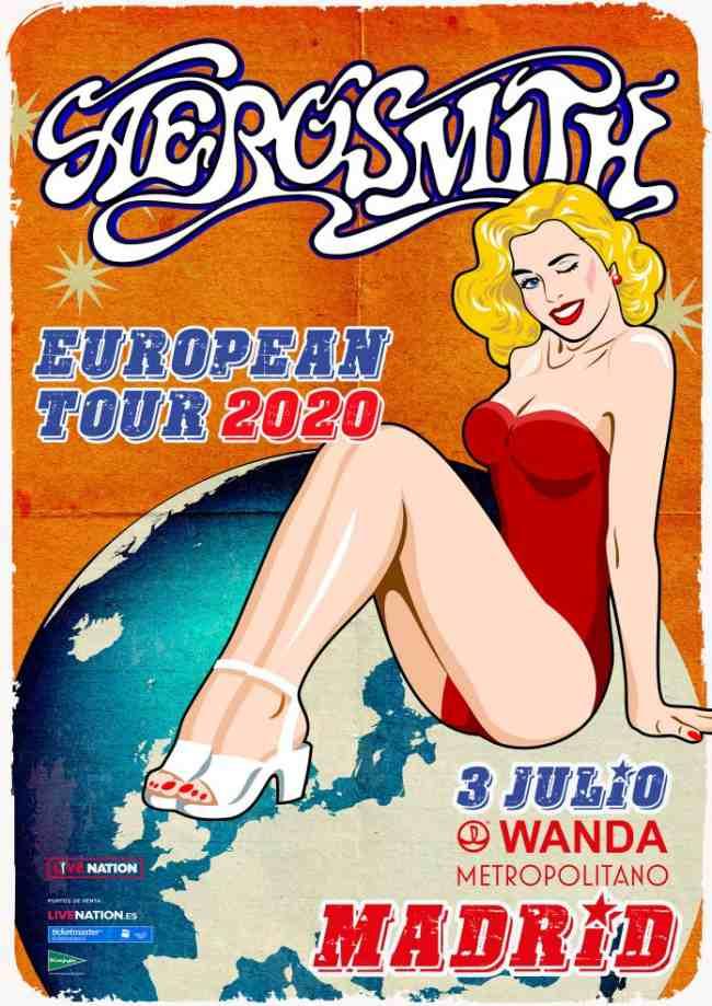 Aerosmith regresa a Madrid el próximo 3 de julio