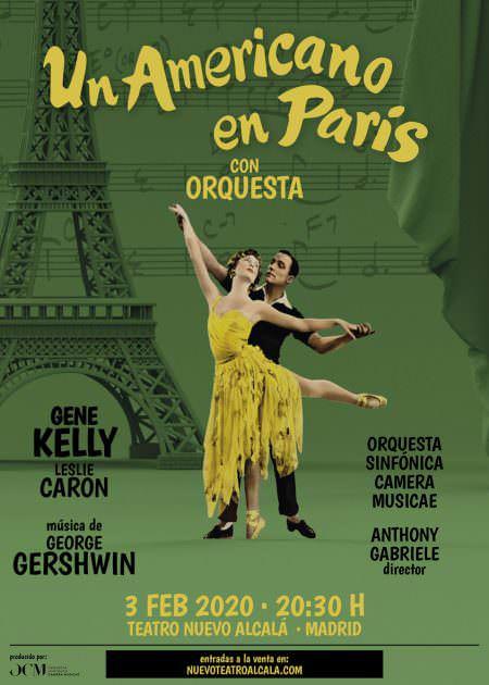 Un americano en París con orquesta
