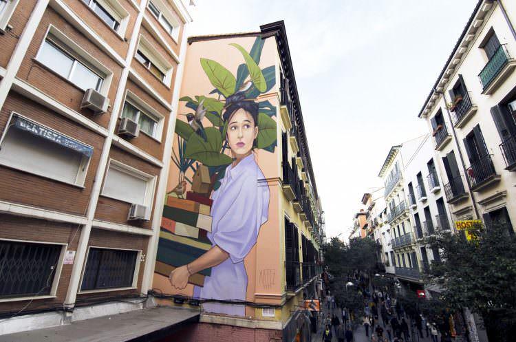 Artez en calle Fuencarral, URVANITY 2019