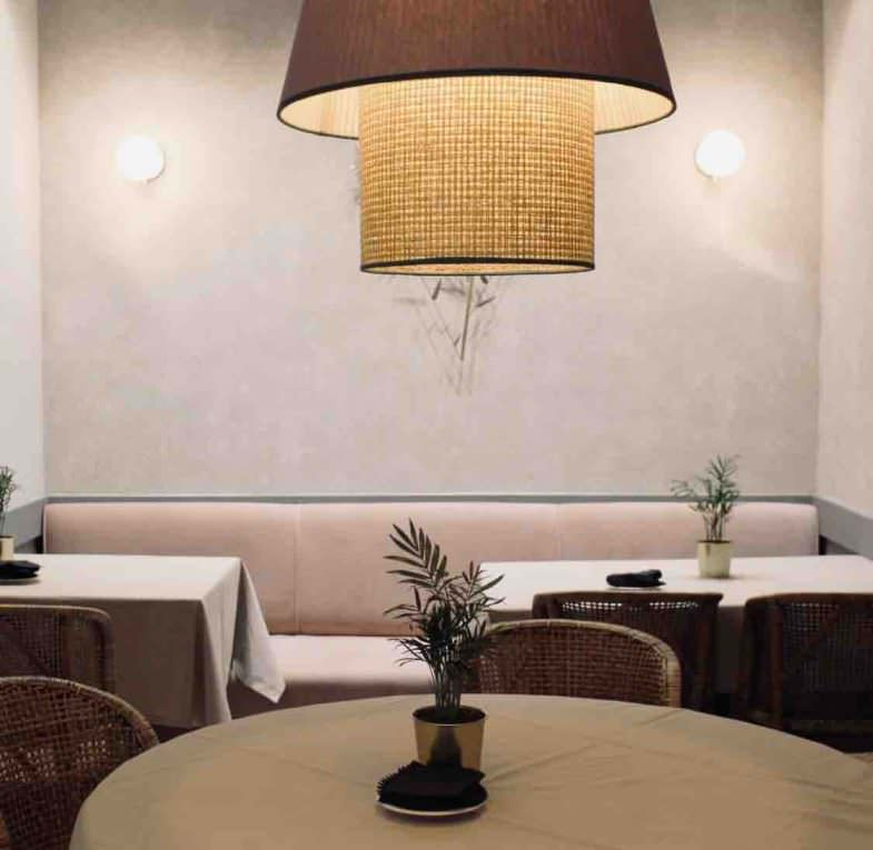 Detalle interior restaurante La Elegida