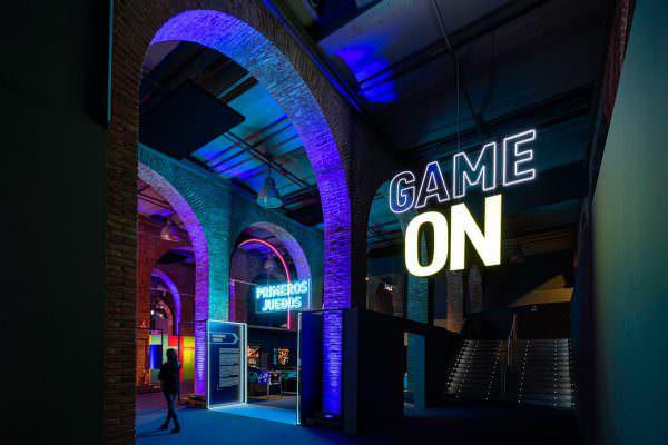 Expo Game On en Fundación Canal