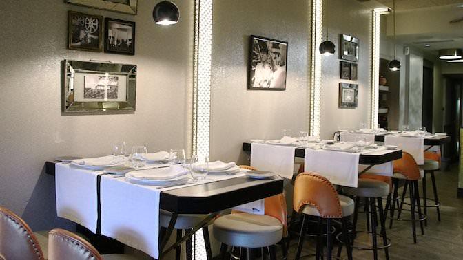 Decoración del restaurante Plató