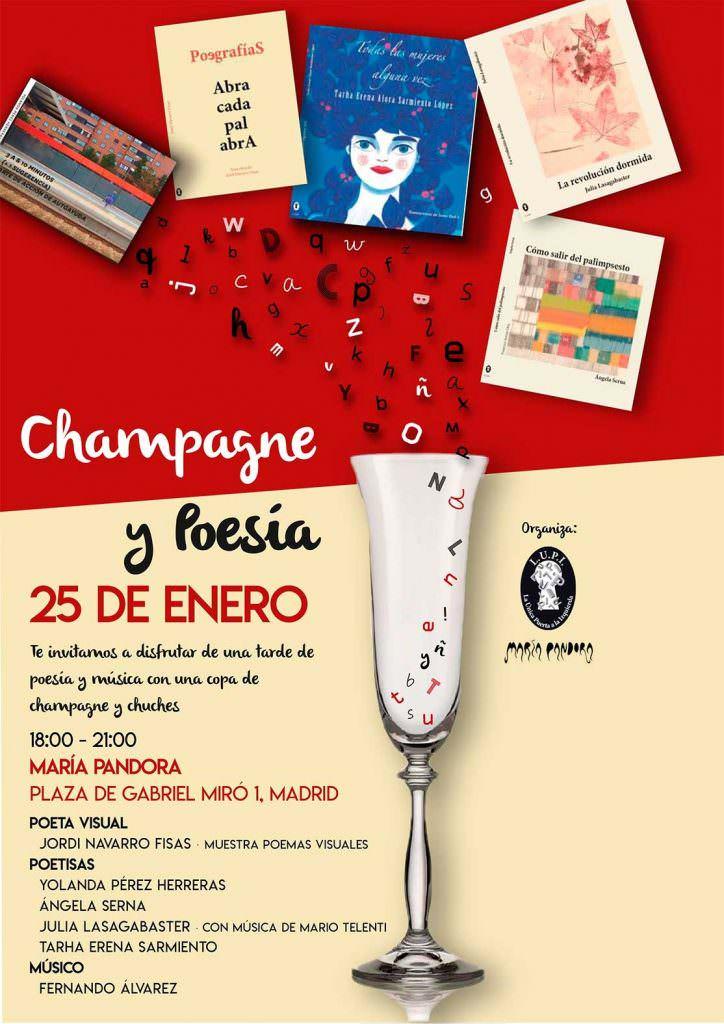 Poesía y Champagne