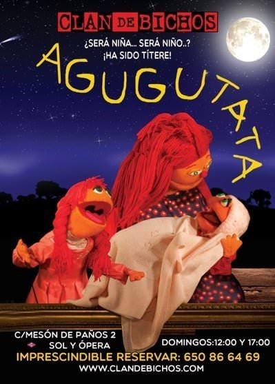 Cartel del espectáculo Agugutata