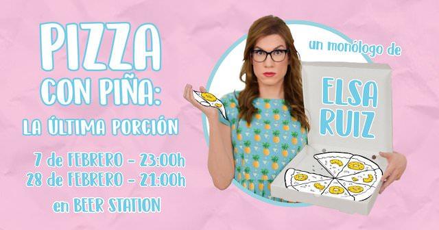 Pizza con piña: la última porción - Un buen día en Madrid