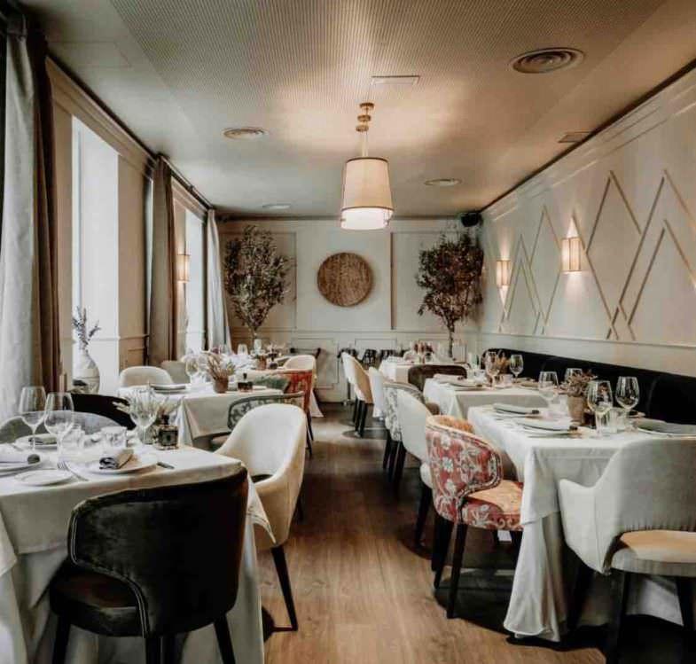 Interior Restaurante Prístino