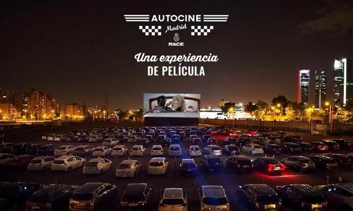 Lugar de encuentro. Autocine Madrid Race