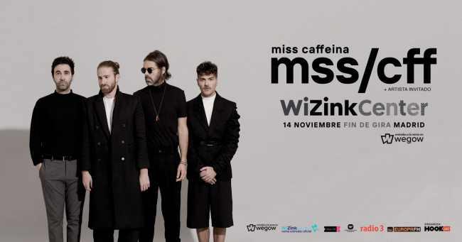 Concierto fin de gira de Miss Caffeina