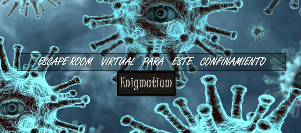 Escape room virtual COVID-19