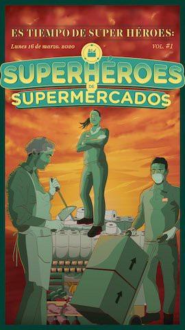 """""""Es Tiempo de Superhéroes"""" - Un buen día en Madrid"""