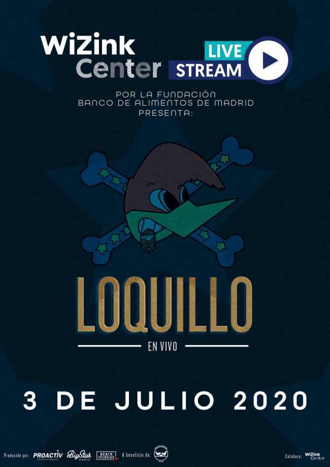 Concierto de Loquillo en el WiZink Center