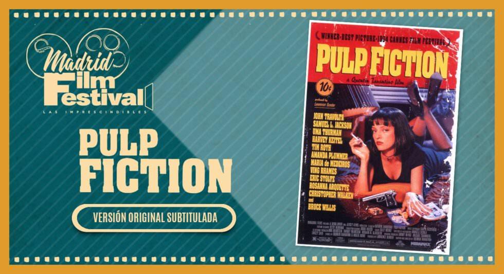 Primera proyección Pulp Fiction (V.O.S.E.)