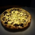 Choose_Pizza con salsa de trufa y setas salteadas