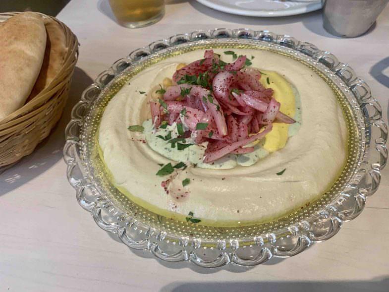 Hummus Barganzo, receta de la casa