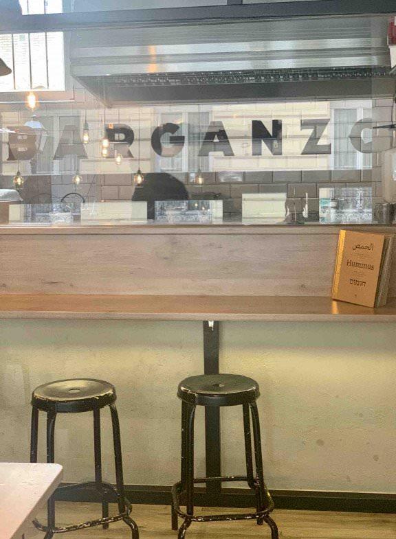 Barganzo, restaurante auténtico de Israel en pleno barrio de Chueca