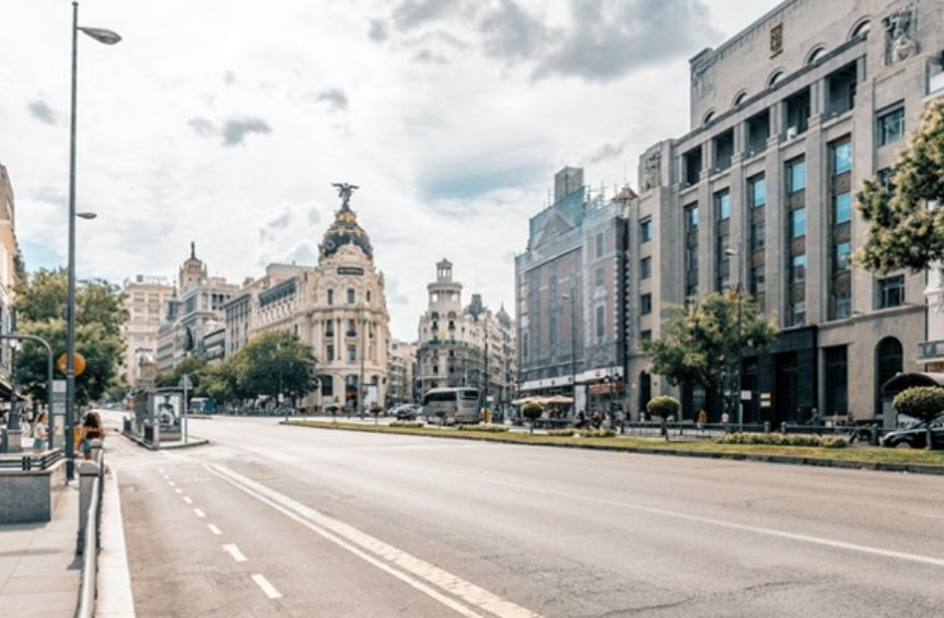 foto calle de madrid