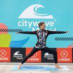 Sesiones de yoga en Citywave Madrid