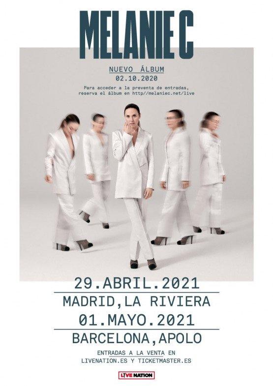 Concierto Melanie C - Un buen día en Madrid