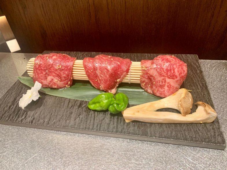 Yakiniku Rikyu carne de Wagyu