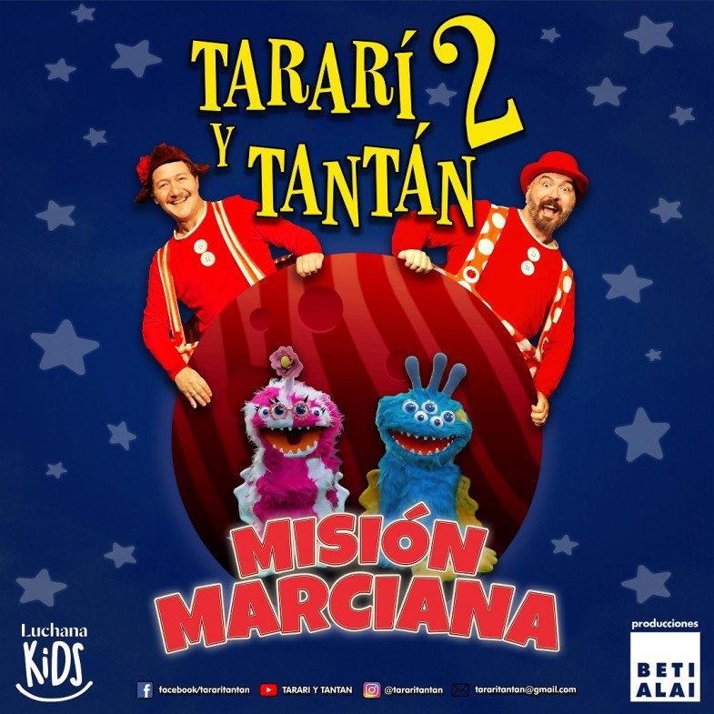 'Tararí y Tantán misión marciana' - Un buen día en Madrid