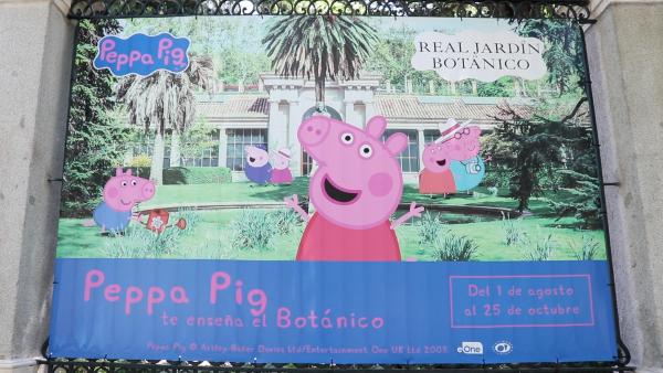 cartel pepa pig