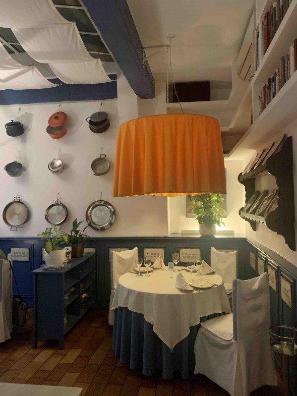Diseño comedor Casa Benigna