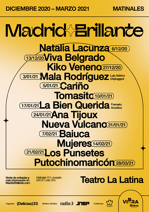 Festival Madrid Brillante en Teatro La Latina