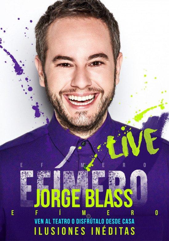 Efímero Live de Jorge Blass
