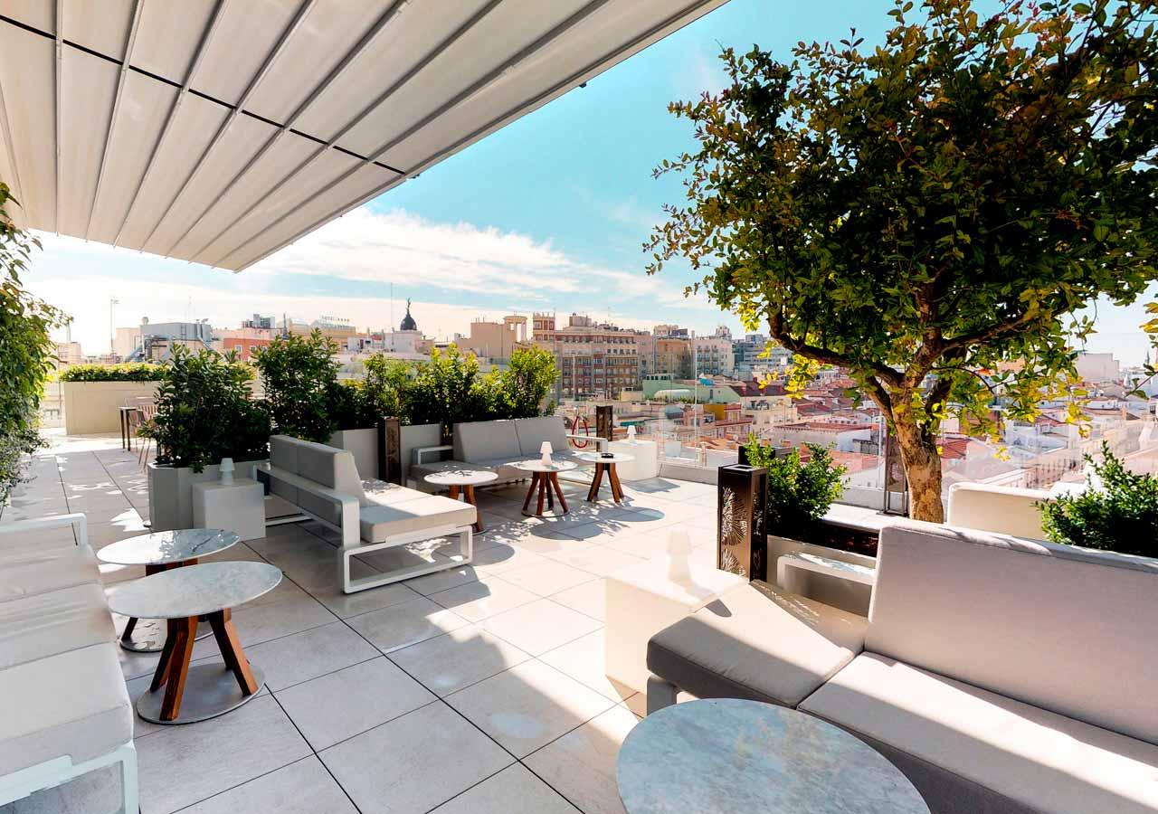 Ginkgo Restaurante & Sky Bar - Un buen día en Madrid
