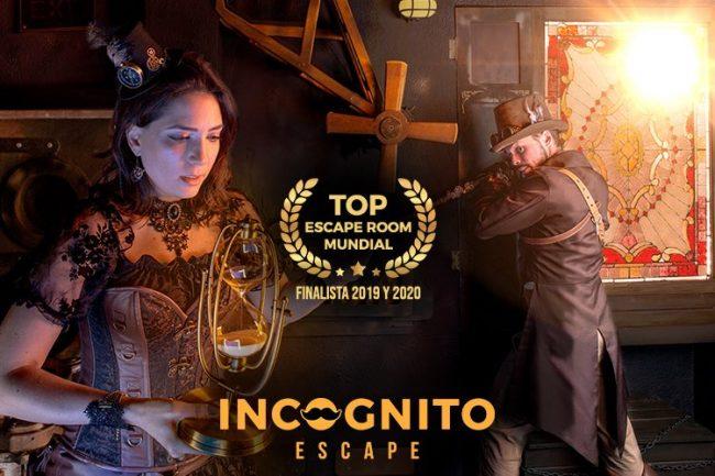 incognito escape room madrid