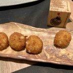 Croquetas semilíquidas de jamón ibérico