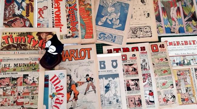 Exposición La Evolución del cómic en España
