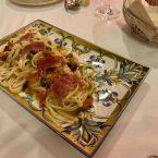 Linguine alla Putanesca con atún rojo de almadraba