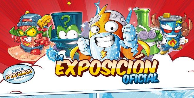 Superthings, Exposición Oficial - Un buen día en Madrid